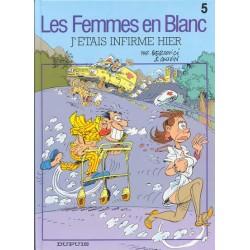 BD Les Femmes En Blanc - J'étais Infirme Hier Bercovi tome 5 édition spéciale