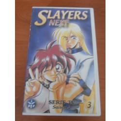 Cassette k7 vidéo vhs mangas Slayers Next saison 2, vol 3 Takashi VOST occasion