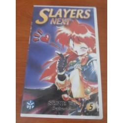 Cassette k7 vidéo vhs mangas Slayers Next saison 2, vol 5 Takashi VOST occasion