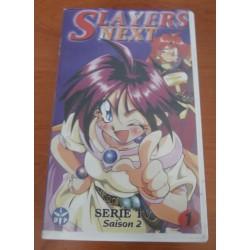 Cassette k7 vidéo vhs mangas Slayers Next saison 2, vol 1 Takashi VOST occasion