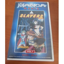 Cassette k7 vidéo vhs mangas mania Slayers Next inédit, vol 1 Takashi VOST français occasion