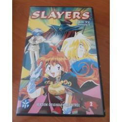 Cassette k7 vidéo vhs dessins animés MANGAS SLAYERS SAISON 1 VOLUME 2 occasion