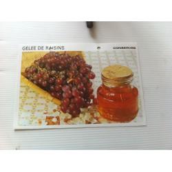 """FICHE CUISINE vintage rétro la bonne cuisine les conserves """"gelée de raisin"""""""