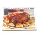 """FICHE CUISINE vintage rétro la bonne cuisine les gibiers """"canard sauvage aux pommes"""""""