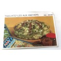 """FICHE CUISINE vintage rétro la bonne cuisine riz,pâtes """" tagliatelles aux anchois"""""""