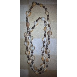 vintage !! ancien collier coquillages origine inconnue