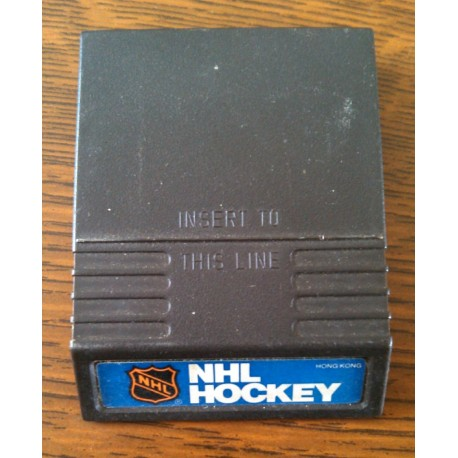 ANCIEN JEU MATTEL ELECTRONICS INTELLIVISION 1979 NHL HOCKEY