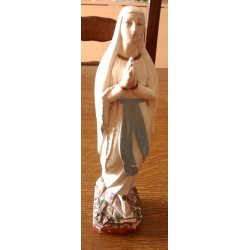 Ancienne vierge religion jésus plâtre